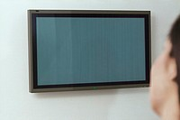 Wall mounted presentation screen (thumbnail)