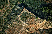 The fortress of Aigosthena, established by Megara to keep Athenian expansion in check, is a prime example of Greek military architecture in the late 4...