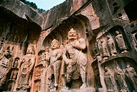 Longmen Grottoes. Luoyang. Henan province. China