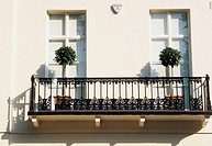 Balcony, Belgravia, London, England