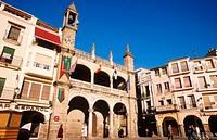 Plaza Mayor. Plasencia. Caceres province. Extremadura. Spain