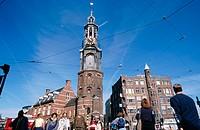 Munttoren. Muntplein. Amsterdam. Holland
