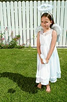Girl in angel costume (thumbnail)