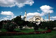 geography / travel, Turkey, Istanbul, mosque Hagia Sophia, architecture, religion, Islam, minaret, UNESCO, World Heritage Site,