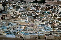 geography / travel, Algeria, holy city of Beni Isguen near Ghardaia, overview, ocean of houses,