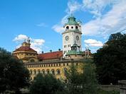 Geo., BRD, Bayern, Gebäude, Müllersches Volksbad, Aussenansicht,   müllersche bad 1897 - 1901 von hocheder gebaut, genannt nach dem ingenieur karl mül...