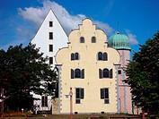 Geo. BRD, Niedersachsen, Osnabrück, Gebäude, Ledenhof, Aussenansicht