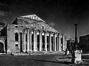Deutschland hist.- Städte, München, zerstört, Nationaltheater (Hoftheater) Ruine 1945  nachkriegszeit Münchner Oper