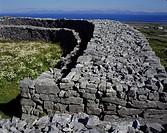 Geografie, Irland, Aran Islands,  Dun Aengus,  Inishmore, Festungsanlage aus den ersten  vorchristlichen Jahrhunderten, frühgeschichtliche Festung, fr...