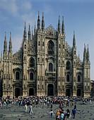 Geografie, Italien, Mailand, Kirchen,  der Dom, Außenansicht   gotisch