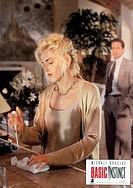 C Film, ´Basic Instinct´ USA 1991, Regie: Paul Verhoeven, Szene mit: Michael Douglas, Sharon Stone ORIGINAL AUSHANGBILD!!! erotikthriller, erotik - th...