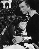 Film ´Desiree´   Regie: Henry Koster, USA 1954,  Szene mit Michael Rennie als Marschall Bernadotte & Jean Simmons als Desiree Clary   Historienfilm na...