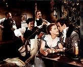 Film ´Die schöne Lügnerin´, Regie: Axel von Ambesser, BRD/F 1959, Szene mit Romy Schneider, Helmut Lohner u.a.   Historienfilm nach Singspiel von Just...