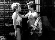 Film, ´Dallas´, Fernsehserie, USA 1982, Folge ´Geheimnis um Pamela´, Szene mit  Stephanie Blackmore und Larry Hagman  tv serie, fernsehen, 1980er jahr...