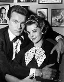 Wood, Nathalie  20.7.1938 - 29.11.1981, US Schauspielerin, Portrait, zusammen mit Ehemann Robert Wagner, 60er Jahre  60er jahre, natalie, mann, schaus...