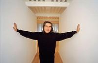 Fabrizio Plessi, Italian artist, 1995