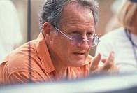 Mann, Michael  * 5.2.1943, US Regisseur, Porträt während der Dreharbeiten zum Film ´Ali´, USA 2001,   drama, sportlerfilm sportfilm, Will Smith als Ca...