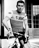 Anquetil, Jacques, 8.1.1934 - 18.11.1987, frz.  Radrennfahrer, Halbfigur, Fotopostkarte, 1967    Sport, Radsport, radrennen, Rennen, hist, fünffacher ...