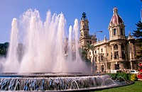 Plaza del Ayuntamiento. Valencia. Comunidad Valenciana. Spain