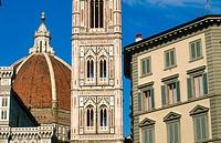 Duomo and Campanile. Santa Maria del Fiore. Florence, Italy