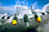 Lockheed P-38 Lightning, Second World War American fighter