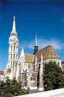 Matthias Church. Budapest. Hungary