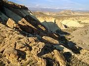 Tabernas desert. Almería province, Spain