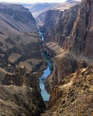 Owyhee River. Iron Point. Rome. Oregon, USA