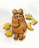 Honey mouse (mouse made of gingerbread, 3)