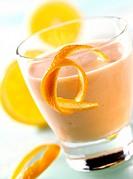 Sea buckthorn buttermilk drink with orange for diabetics