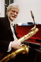 Gerry Mulligan, American baritone saxophonist, arranger, and composer