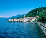 Bellagio from Como Lake. Lombardy, Italy