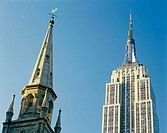 Empire State Building at 5th Avenue, Manhattan. New York City, USA