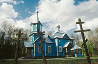 Orthodox church. Koterka villiage. Eastern Poland