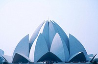 Bahai Lotus Temple. Delhi. Uttar Pradesh. India