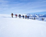 10651265, alpine, Alps, mountains, Bernese Oberland, spare time, group, canton Bern, Rosenlaui, snow, snow shoes, snow shoe ru