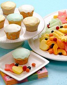 Cupcakes fruit