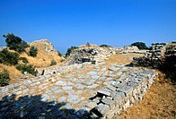 Ancient site of Troy, Turkey