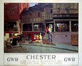 Great Western Railway poster. Artwork by W Russell Flint.