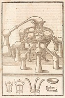 Woodcut. The furnace had symbolic meaning in alchemy. It was not just a piece of apparatus to heat up and purify metals. Alchemists believed that the ...