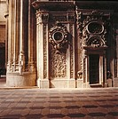 New cathedral (begun 1513 and completed in the 18th century). Salamanca. Spain