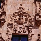 Detail of Casa de las Muertes (begun 16th century). Salamanca. Spain