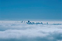 Fog Shrouded San Francisco
