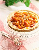 Fresh Peach and Almond Tart