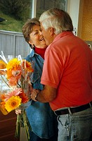 A Romantic Gift of Flowers