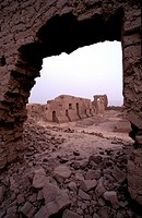 Gaochang Ruins near Turpan, China