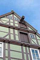 Timberwork house in Celle. Lower Saxony. Germany