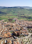 Aerial view of Zafra. Badajoz province. Extremadura. Spain