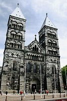 The Cathedral in Lund, Sweden