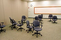 Conference room  with random chairs